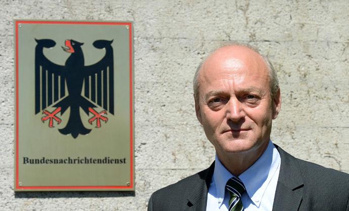Gerhard Schindler, President of the German Federal Intelligence Service (BND) (AFP Photo)