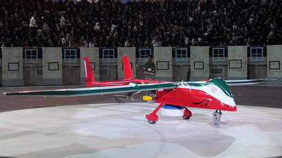 Video emerges of Iranian version of US stealth drone