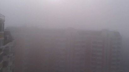 Mystery fog, 'toxic' sulfur odor covers Moscow (VIDEO)