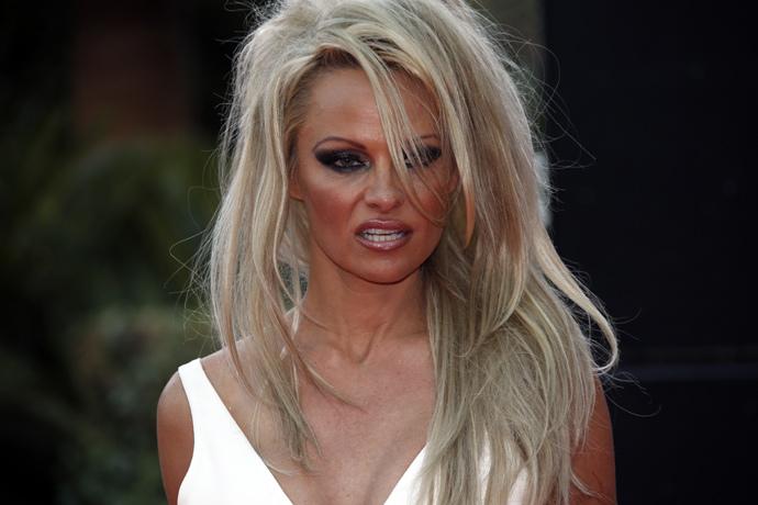 Pamela Anderson (AFP Photo / Valery Hache)