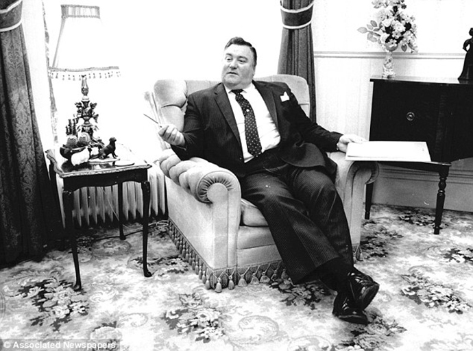 The late Conservative MP, Geoffrey Dickens. (Image from worldpress.com)