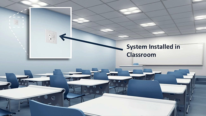 Massachusetts school installs 'Shooter Detection System'