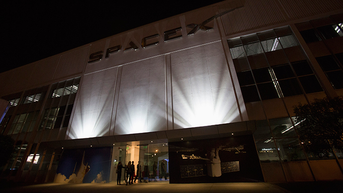 An exterior of the SpaceX headquarters in Hawthorne, California (Reuters / Mario Anzuoni)