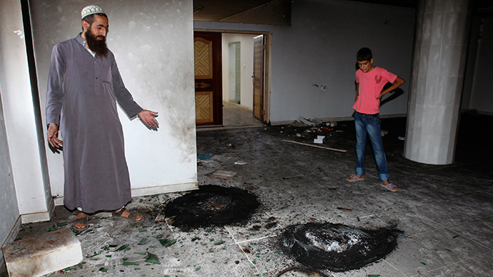 Israeli settlers 'set fire' to West Bank mosque