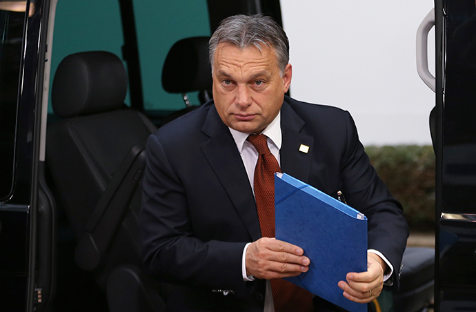 Hungary Prime Minister Viktor Orban (Reuters / Francois Lenoir)