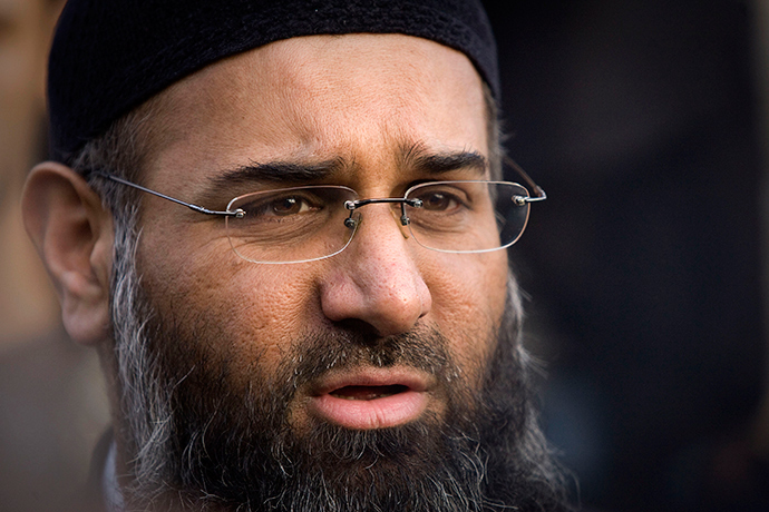 Radical Islamic preacher, Anjem Choudary. (Reuters / Tal Cohen)