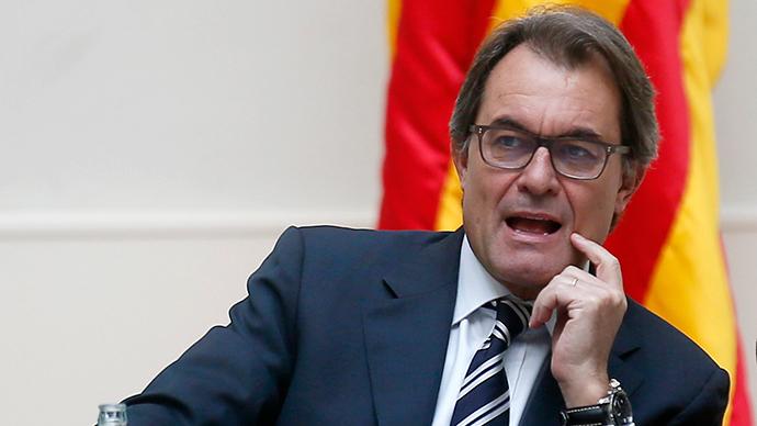 Catalonia's Regional President Artur Mas (Reuters / Albert Gea)