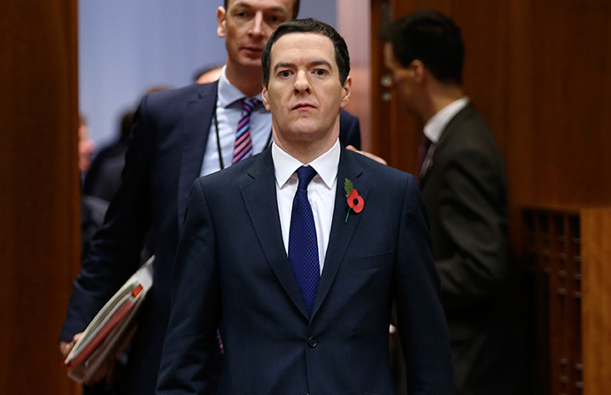 Britain's Chancellor of the Exchequer George Osborne (Reuters / Francois Lenoir)