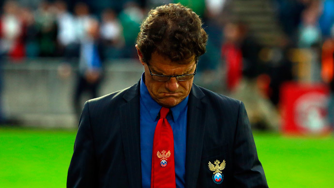 Poor Capello: Russian Football Union struggling to pay Italian's $11mn salary