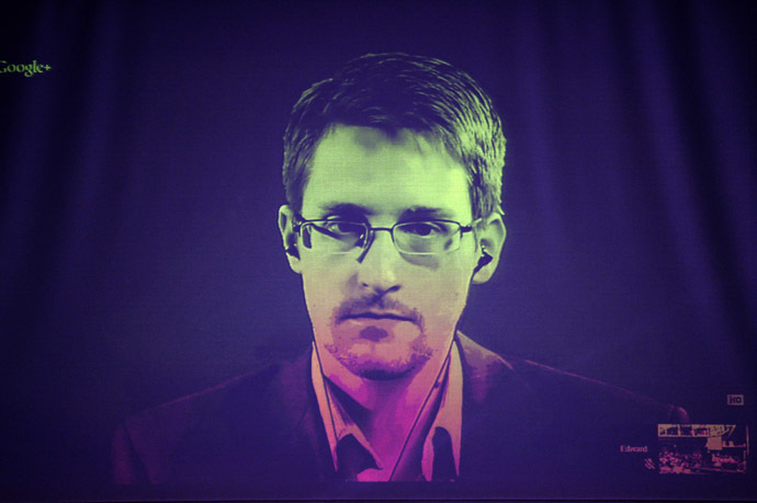 US National Security Agency (NSA) whistleblower Edward Snowden (AFP Photo/Frederick Florin)