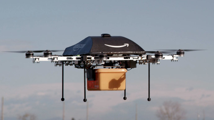 Amazon to test same-day UK delivery drones