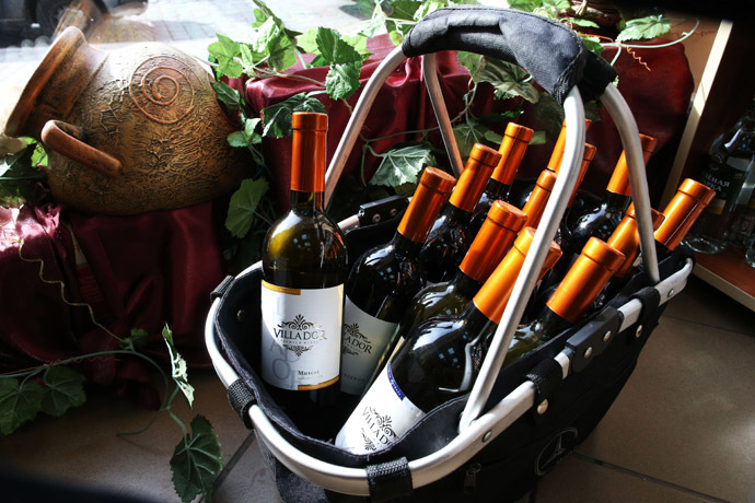 Moldovan wine (RIA Novosti/Igor Zarembo)