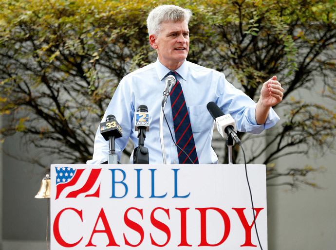 Republican US Rep. Bill Cassidy (Sean Gardner/Getty Images/AFP)