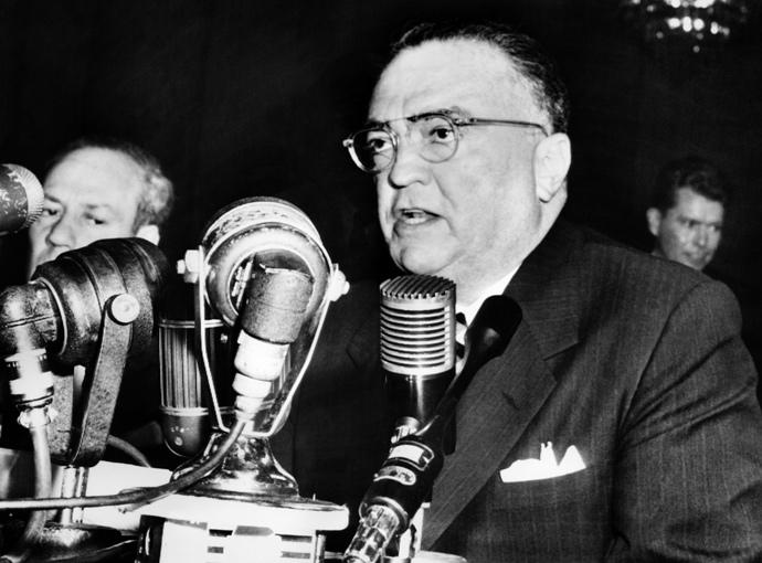 John Edgar Hoover (AFP Photo)