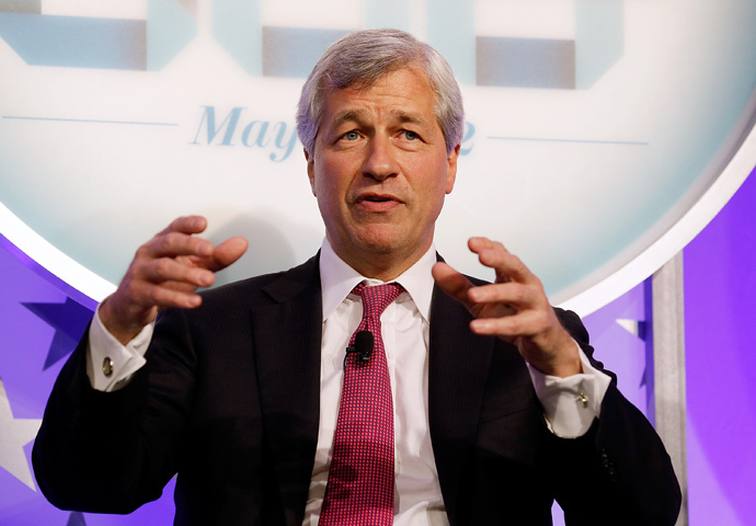"Chairman and CEO, JPMorgan Chase & Co, James ""Jamie"" Dimon (Jemal Countess / Getty Images for Time / AFP)"