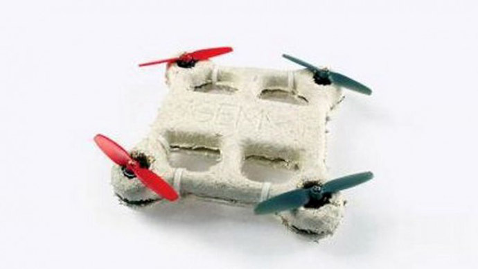 ​NASA invents self-destructing bio-drone made of fungus and bacteria