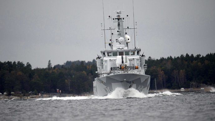 ​Sweden confirms mysterious foreign vessel entered its waters back in October