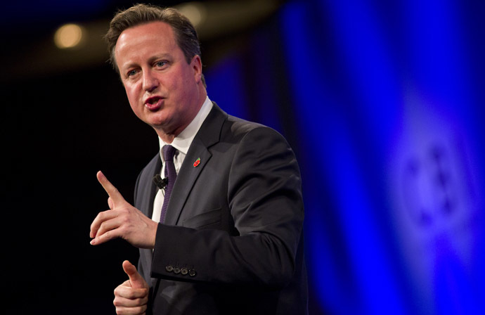 British Prime Minister David Cameron (AFP Photo/Justin Tallis)