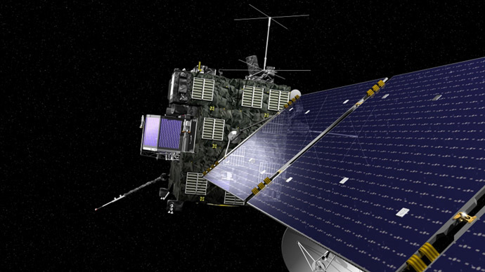 Rosetta's comet drill results may not get to Earth - ESA