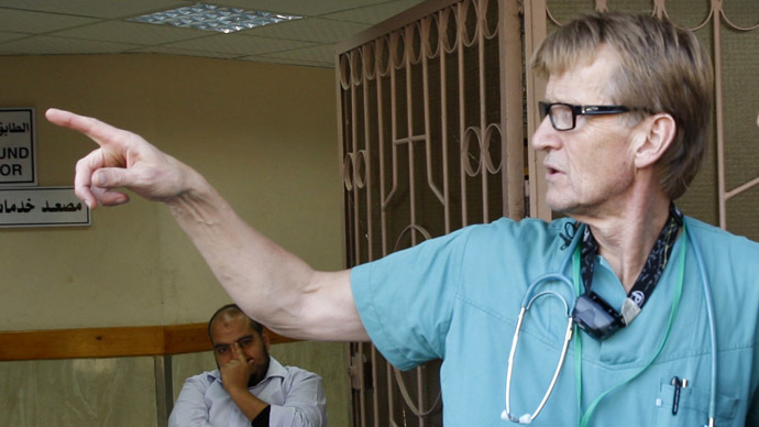 Israel bans outspoken Norwegian doctor from Gaza for life for 'security reasons'