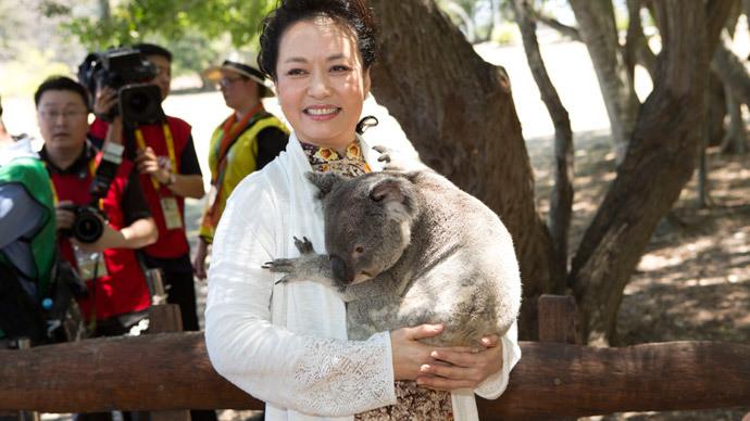 Koalas & kangaroos: G20 first ladies go wild in Aussie outback