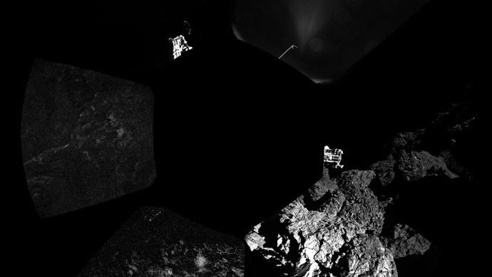 AFP Photo / ESA / Rosetta