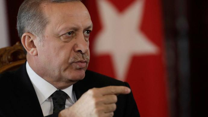 Turkey's President Recep Tayyip Erdogan.(Reuters / Ints Kalnins)