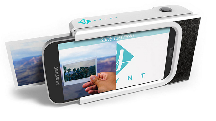4efbef51ab It's magic! Polaroid-like smartphone case to print selfies & turn ...