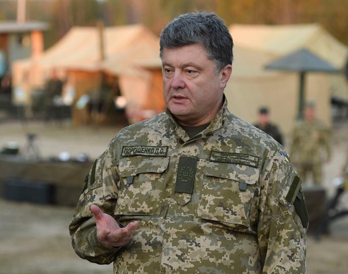 Ukrainian President Petro Poroshenko (Reuters / Mykola Lazarenko)