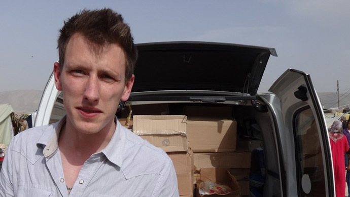 ISIS video shows beheading of US hostage Peter Kassig
