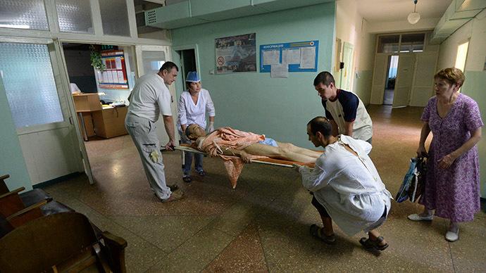 Tough treatment: Doctors in war-torn Ukraine