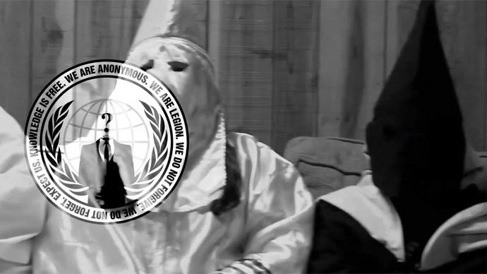 #OpKKK: Anonymous hacks KKK websites, Twitter over Ferguson threats