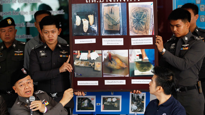 2 US men on run after attempt to mail body parts from Bangkok