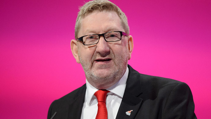 Britain's General Secretary of Unite the Union Len McCluskey.(AFP Photo / Leon Neal)