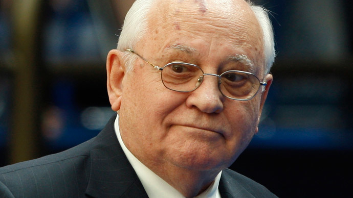 Mikhail Gorbachev (Reuters / Jason Reed)