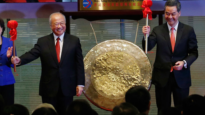 China opens up $4.2tn stock market to world via Hong Kong
