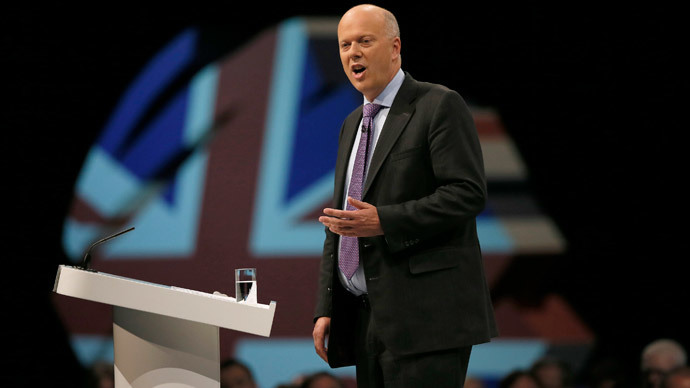 Chris Grayling.(Reuters / Phil Noble)