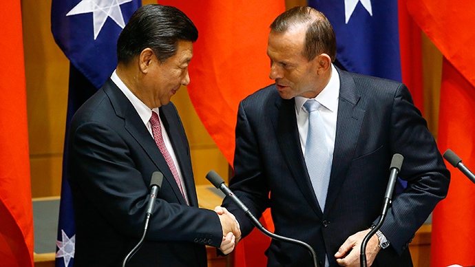 China, Australia sign landmark free trade deal