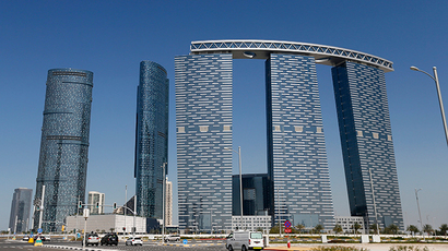 Sun and Sky towers in Reem Island in Abu Dhabi (Reuters / Stringer)
