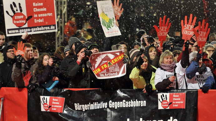 No fracking, we're German! Berlin reiterates moratorium on drilling