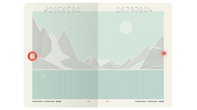 Fabulous fjords! Norway's new passports get stylish, minimalist Nordic makeover