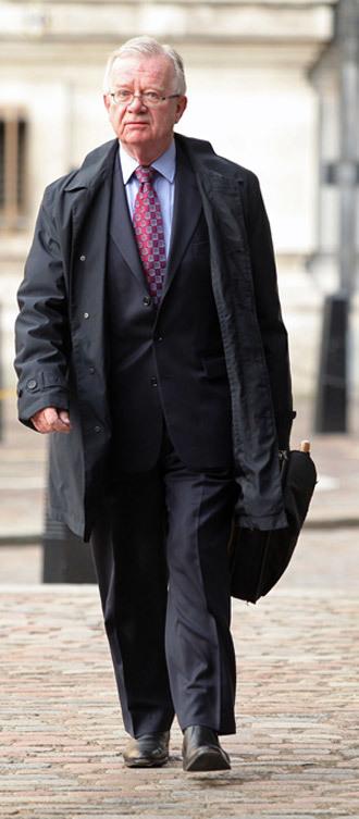 Sir John Chilcot.(AFP Photo / Shaun Curry)