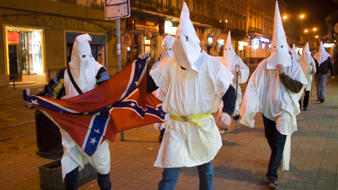 Anonymous: Campaign against 'terrorist group' KKK will continue