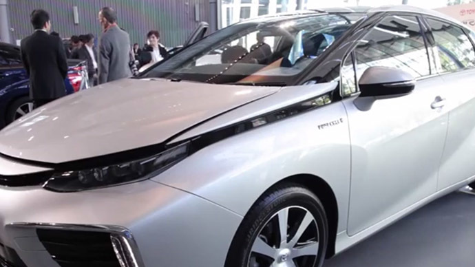 Toyota unveils game changer hydrogen-powered car