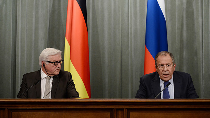 Russia, Germany call for national dialogue in Ukraine