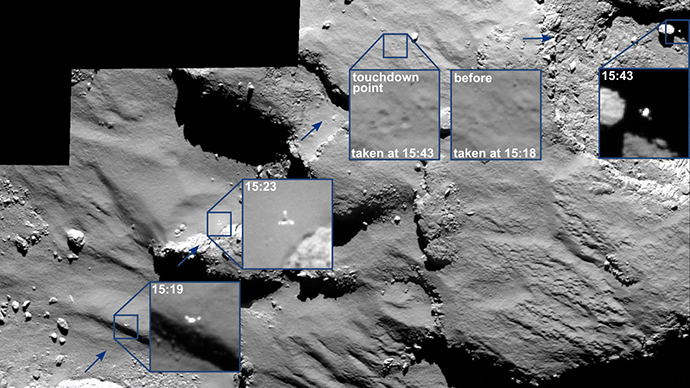Philae lander 'sniffed' organic molecules on comet before hibernation