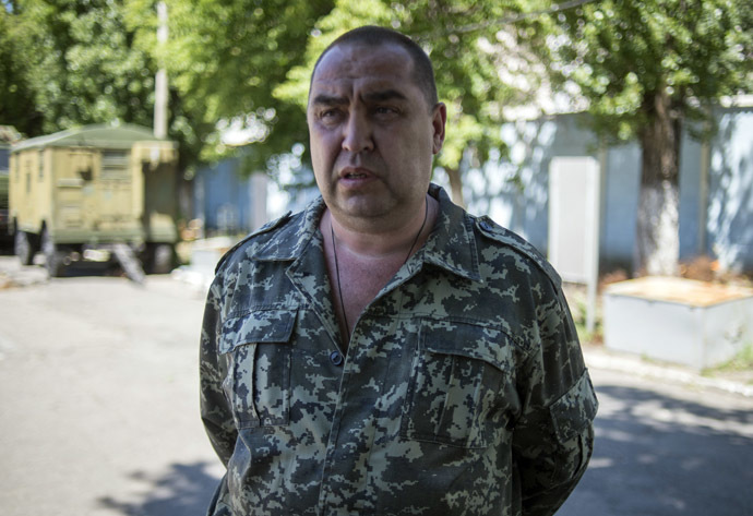 Prime Minister of the Luhansk People's Republic Igor Plotnitsky (RIA Novosti/Valeriy Melnikov)