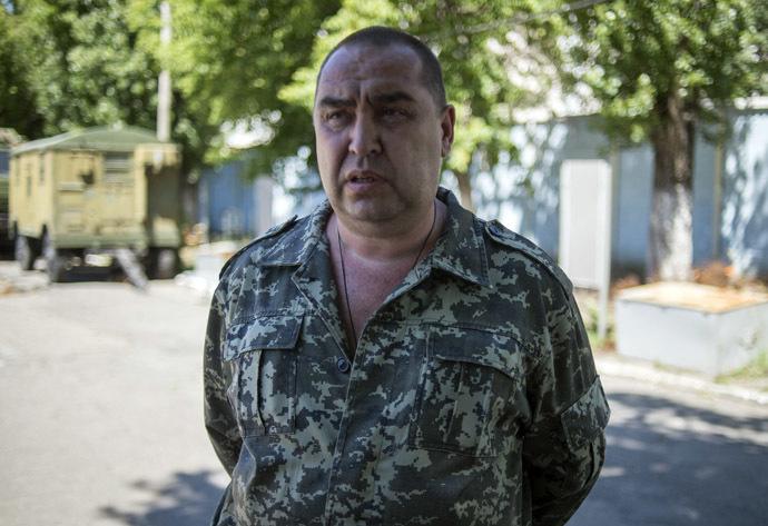 Prime Minister of the Luhansk People's Republic Igor Plotnitsky (RIA Novosti/Valeriy Melnikov)