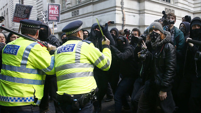 UK Midlands outrage: Police teargas and 'assault' students protesting tuition fees