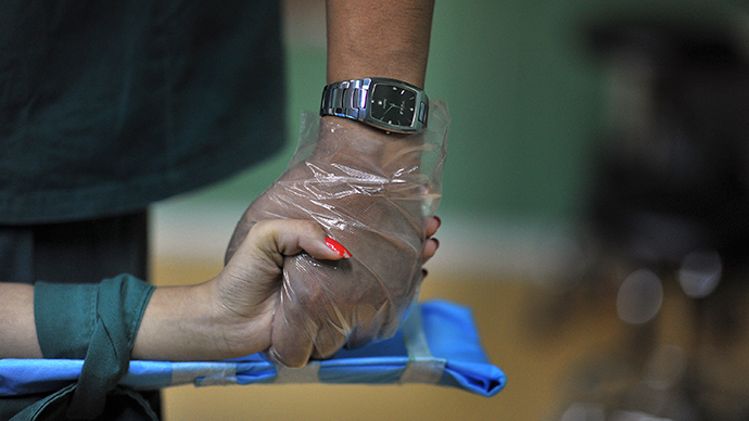 ​Solution for the absentminded? Swede gets microchip key implanted in hand